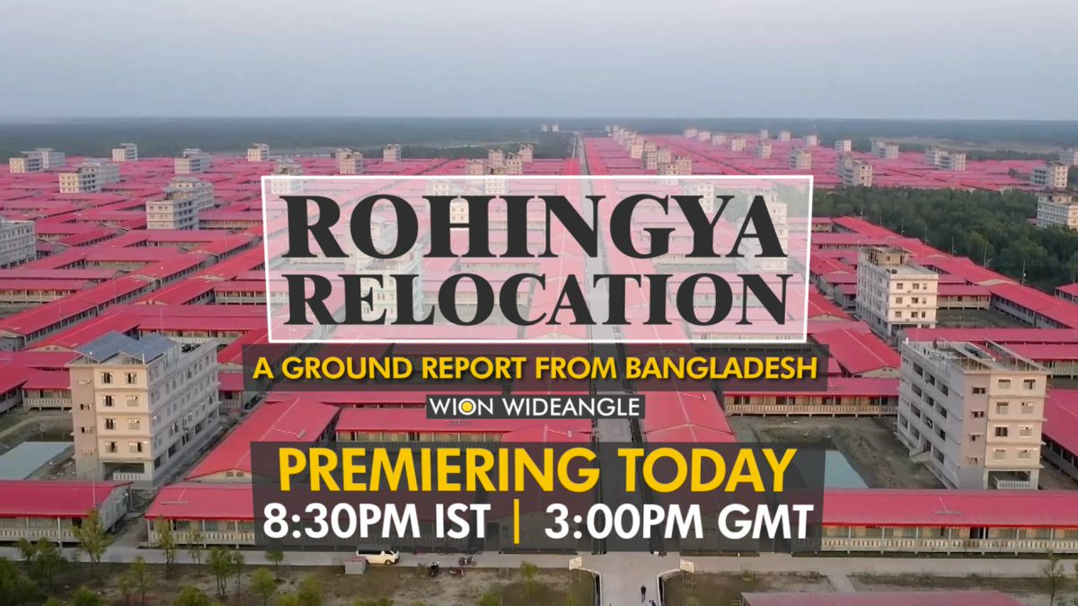 #Bangladesh is in the process of relocating 100,000 #Rohingyas from the world's largest refugee camp at Cox's Bazar to the island of #BhasanChar. It's a herculean task. What are the challenges? Why is it considered controversial? #JohanCastell gets you a ground report from B'desh https://t.co/QUyansVsqp