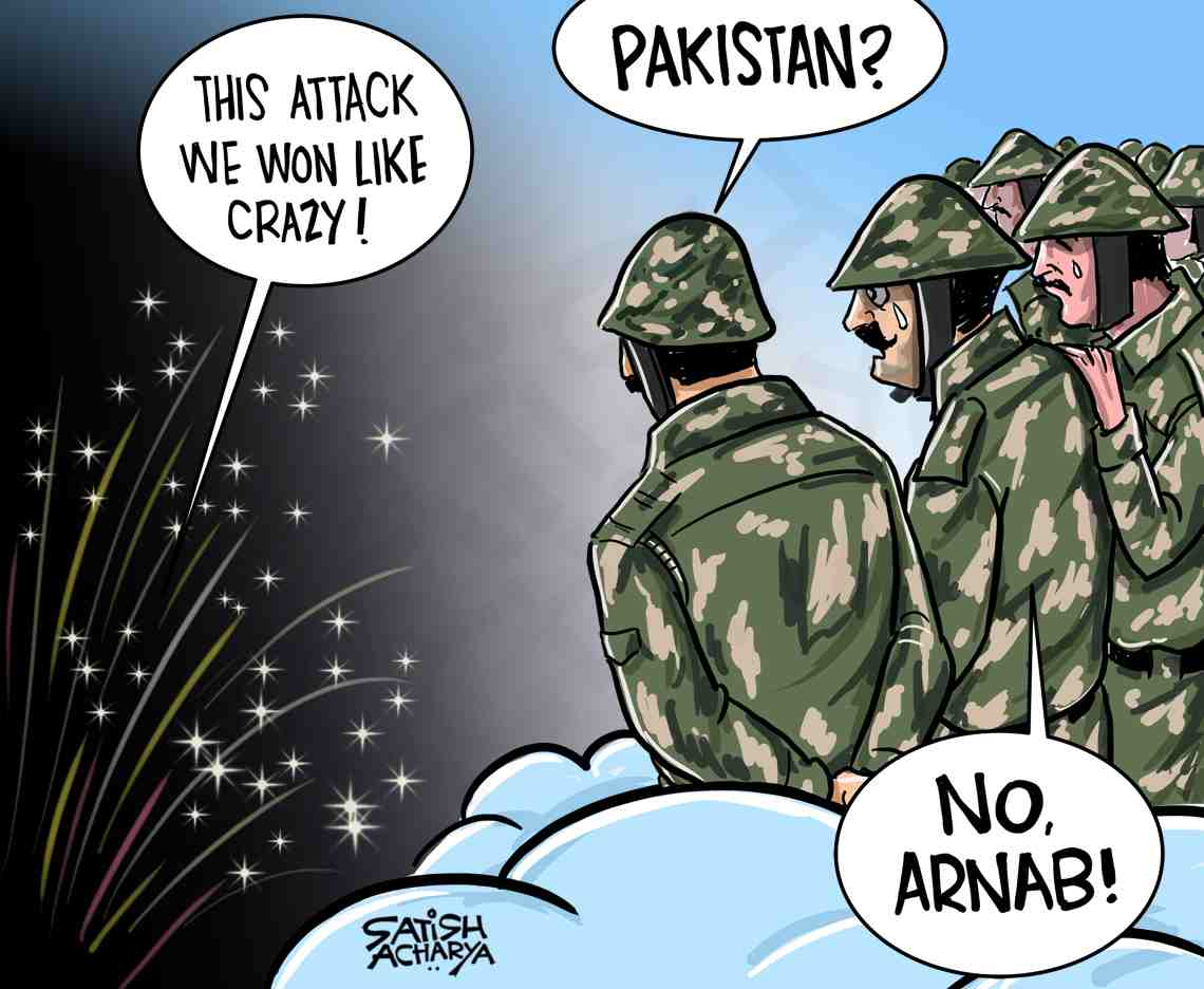 Replying to @satishacharya: 'This attack we won like crazy' #ArnabGate