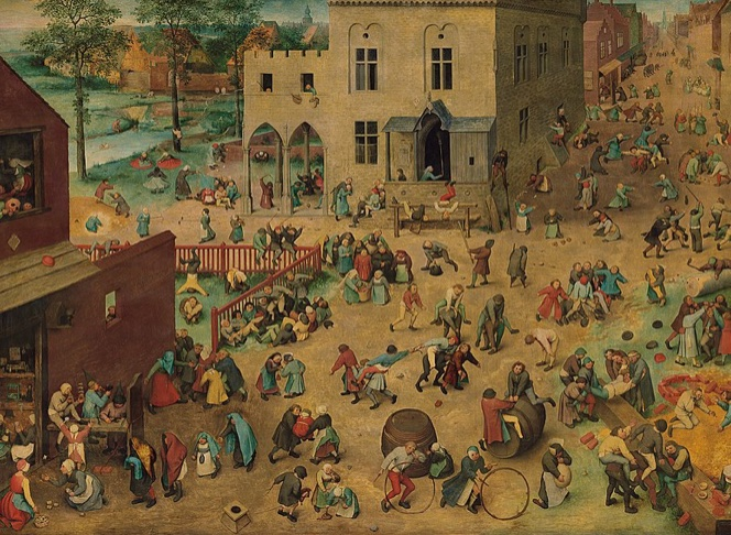 Yes! Children's Games, 1560, an all-time favourite