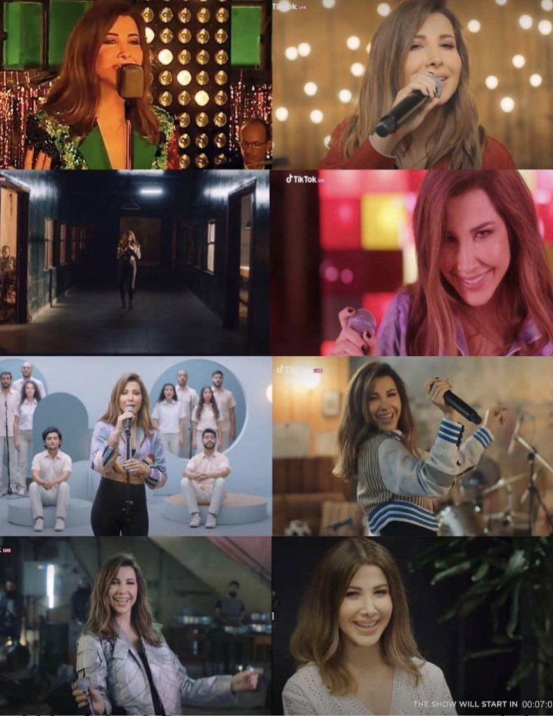 You're source of the life, happiness and so much positivity in the amazing concert  @NancyAjram 💕😍❤️💃   #حفل_نانسي_تيكتوك