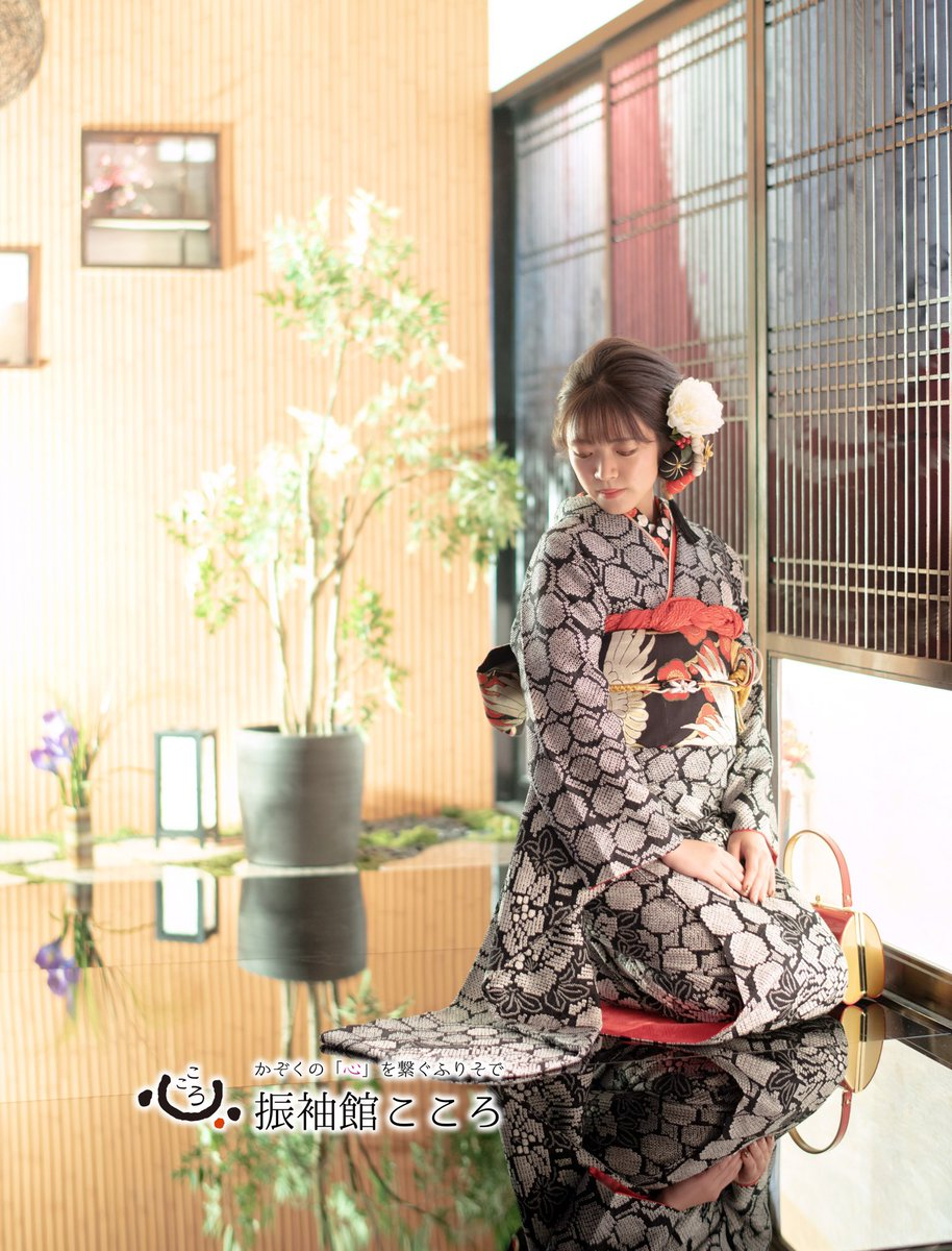 . 美しのワンショット✨ . . . #振袖館こころ #成人式 #前撮り #かわいい #美しい #きもの #振袖 #ふりそで #水戸 #カメラ #撮影 #写真 #ポトレ #フォトスタジオ #写真 #ヘア #和服 #和装 #子供 #成長 #こころ  #幸せ  #スタジオ  #nippon #photostudio #photograpy #portrait #photo #happy