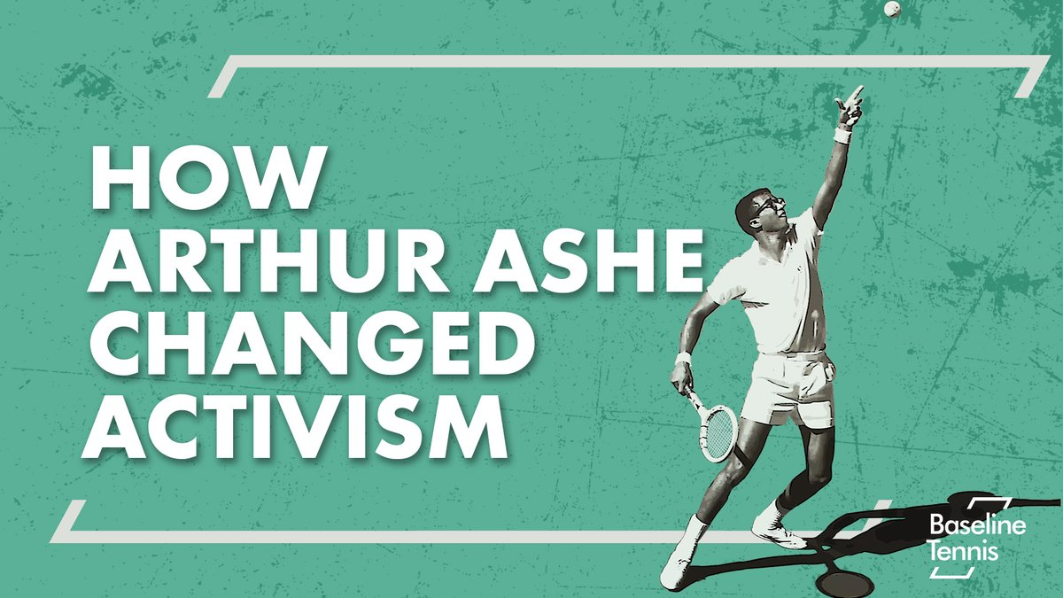 He showed the way for alternative activism – of quiet determination, nuance in thought & strident in deed.  📝 @andrew_raeburn & 🎙@kristemple on how activism changed Arthur Ashe - and how he changed activism: 👀 📺 👇   #tennis #usopen #wimbledon #AusOpen