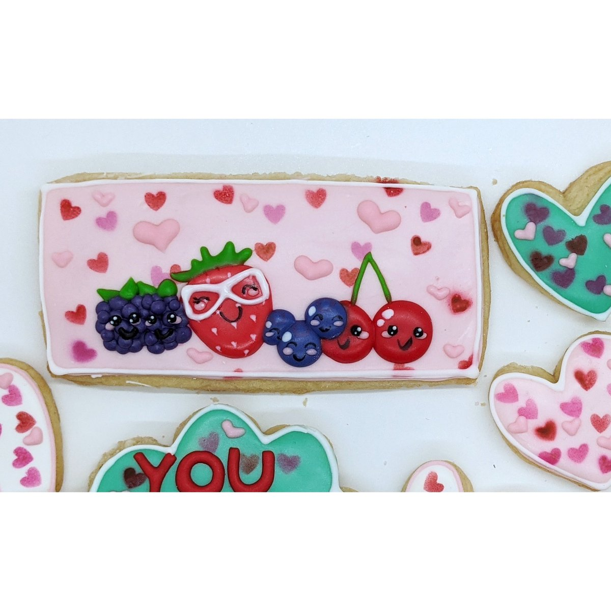 I'm WILD about you! 🍓🍒 Use code VDAY for a 10% discount! Code valid through 1/31 . #Cookies #WildBerries #WildAboutYou #ValentinesDay #LoveDay #Cookier #CookieArt #EdibleArt #CookieLove #nyc #CustomCookies #DecoratedCookies #SpreadLove #SugarSketch #CookieLove