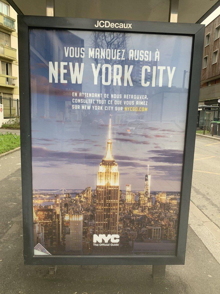OUI, C'est promis, je reviendrai une troisième fois à #NYC  YES, I promise I will come back to #NYC a third time 🇺🇸❤️😍