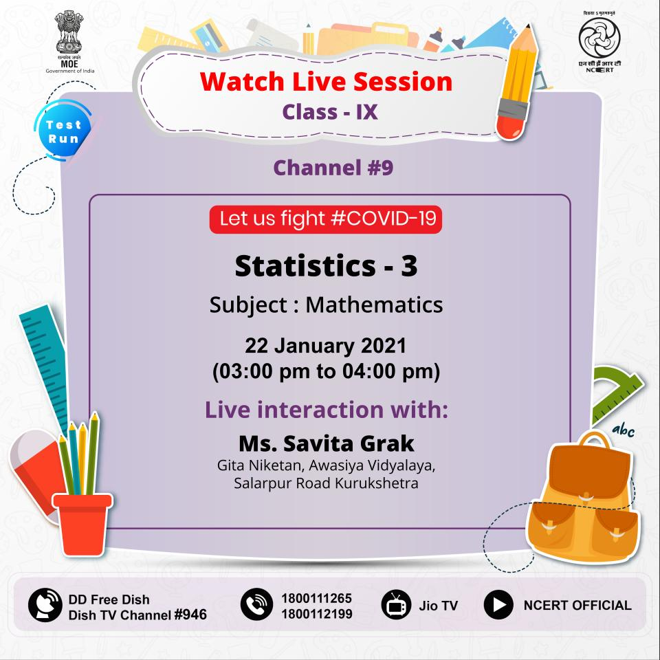 #StayHome  , #LearnFromHome. Watch live interaction with experts by Connecting to #PMeVidya #DTHTV channels (I to XII) trial run. Also available on #NCERT official @YouTube channel, @TataSky #756, #Airtel #440, DD free dish, DishTV #950, Videocon #477, SUNDIRECT#793, @jiotv