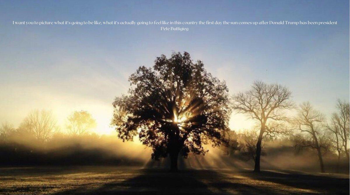 #SunriseOnANewEra #SunriseCelebration #MorninPete @PeteButtigieg