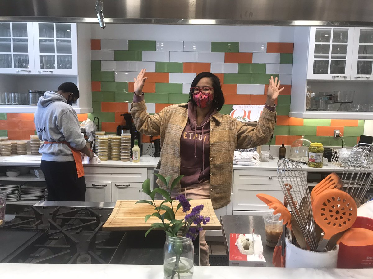 Restaurants like @CookingWithQue ready to welcome customers back for indoor dining come February 1st. I'm live & local on @WWJ950 at 8:30. Listen live