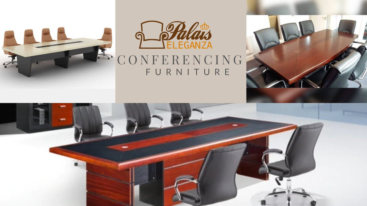 We offer #conferencing solutions as part of our #OfficeFurniture portfolio. Talk to us today, we are available! #WorkFlow #Nairobi #Office #FurnitureKe #ThursdayThoughts  MPESA