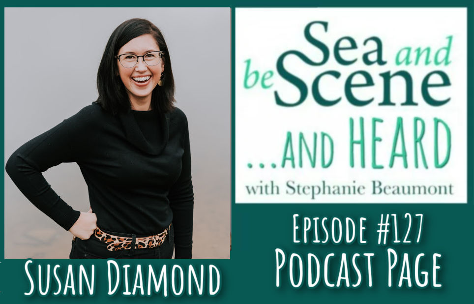 WHAT?! YOU MISSED IT?!!! No worries.  You can stream/download the #podcast version of SEA AND BE SCENE... And HEARD with my Special Guest #NovaScotia REALTOR SUSAN DIAMOND here...  We talk #realestate #NSfilmjobs #HAVEN #SouthShore and MORE