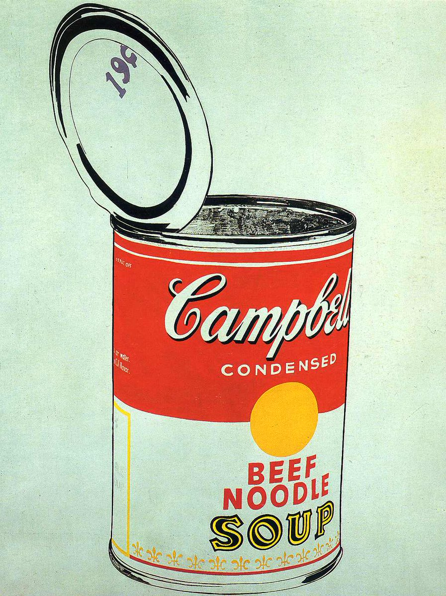 andy warhol campbell's soup - HD1193×1600