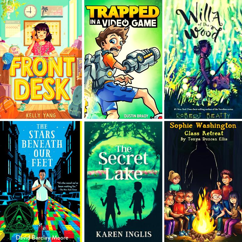 #GiveawayAlert Six paperbacks of my favorite middle grade books of 2020. U. S. only. @beattybooks Willa of the Wood, @Kareninglis The Secret Lake, @kellyyanghk Front Desk, and more! kingsumo.com/g/8jampx/win-s… #kidlit #librarianlife #Reading #readinglist #TEACHers #mglit #BookWorm