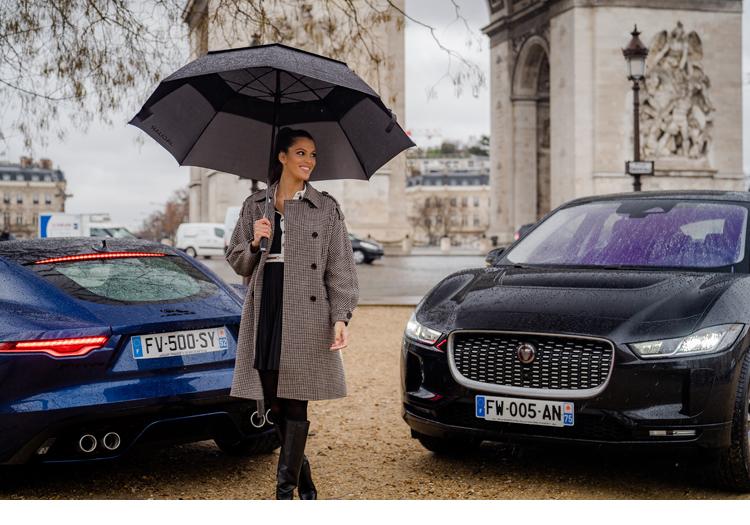 L'élégante Iris Mittenaere chez Jaguar  #collaboration #ambassadrice #égérie #luxe #voiture #élégance #partenariat #style #missfrance #miss @JaguarFrance @IrisMittenaereO