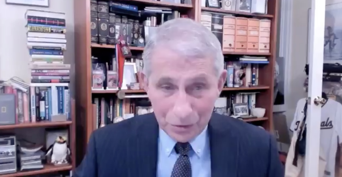 Dr. Anthony Fauci: 'I am Honored to Announce That the United States Will Remain a Member of the World Health Organization' — WATCH