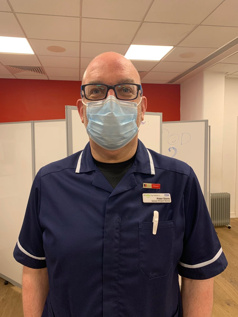 Peter is senior project nurse currently working at @thackraymuseum 'If you want to see the Leeds Way in action, then this is it, here in this space. There is a great working team, we're totally patient centred and it's a fantastic experience.' #facesofcovid #teamleeds
