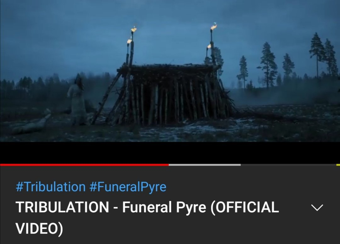 My #song for #wip. #amwriting #horrorfiction #thrillerfiction #CRIMEFICTION. #Tribulation #FuneralPyre just suits the #mood.