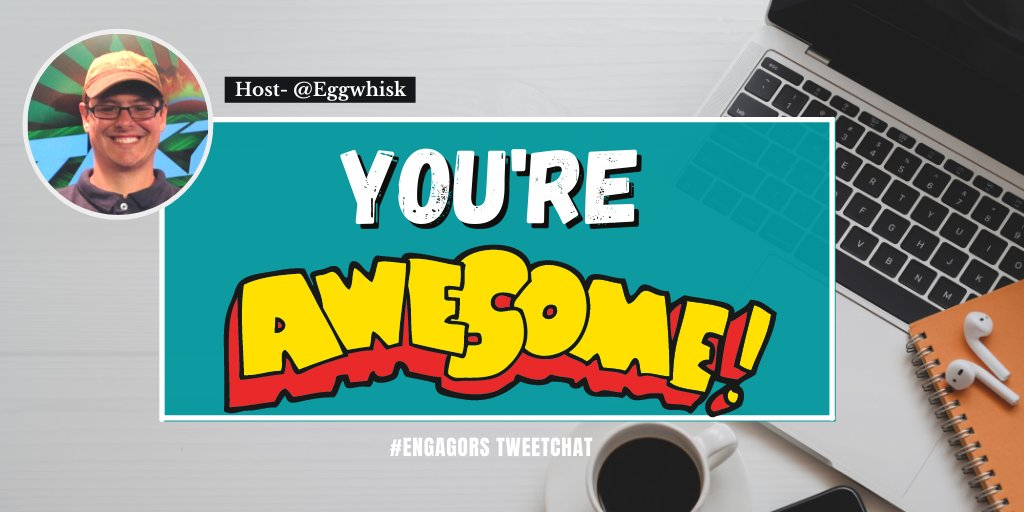 Thank you #EngagORS for your thoughts, contribution and just for being you. You're awesome!