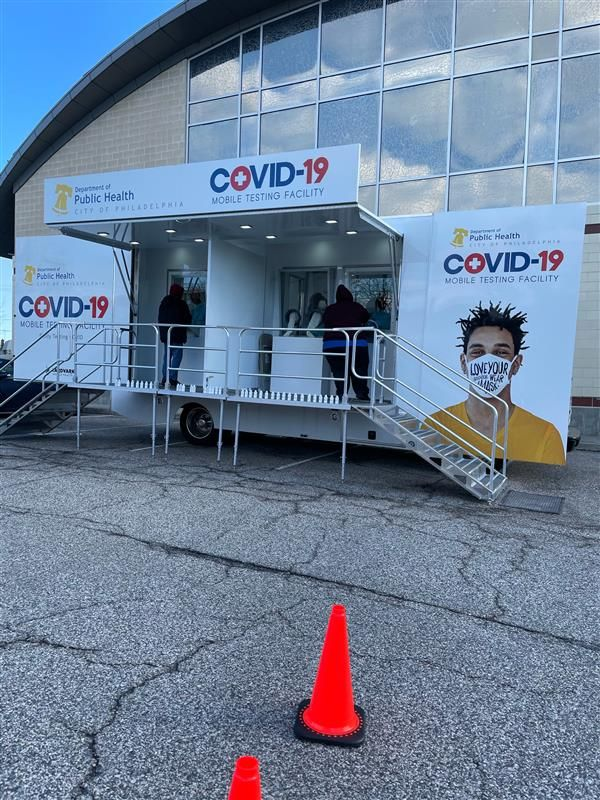 Our #client @aardvarkel is doing great work in the fight against #COVID19 here in Philly and beyond. Be sure to be on the look out for more mobile testing trucks from them near you!