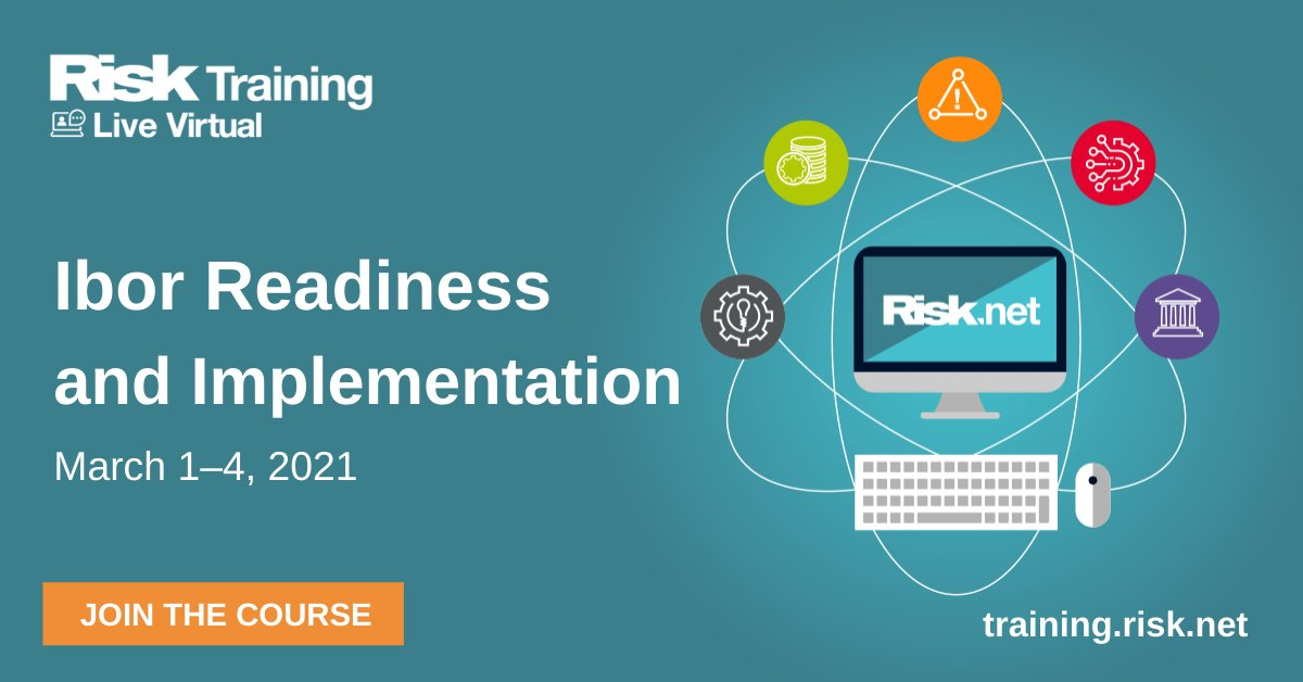 Plan, manage, and execute #Ibor transition within your business with the help of our course - Ibor Readiness and Implementation on March 1–4, 2021  Early bird rate and group 3for2 rates available    #RiskTraining #Ibor #libor #sonia #sofr