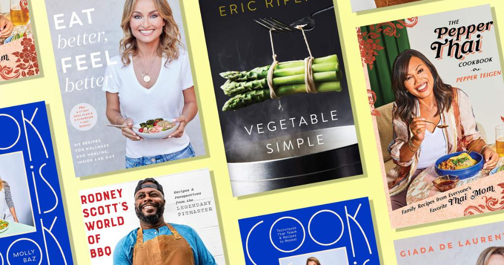 Hot new cookbooks to watch for from @GDeLaurentiis and @ericripert + exciting debuts from @mollybaz and Pepper Teigen :