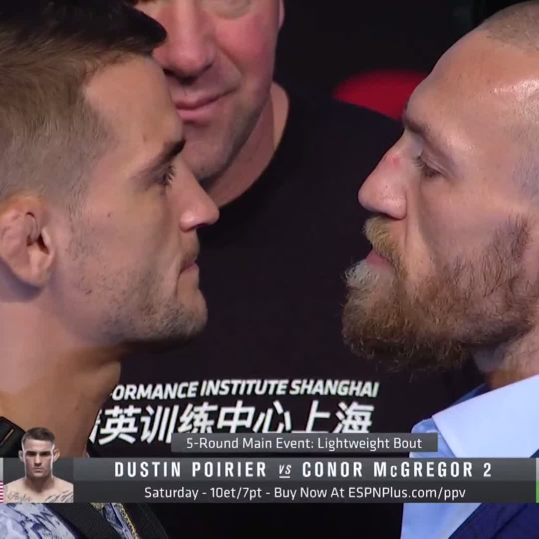 THE REMATCH.  💎 @DustinPoirier vs 🇮🇪 @TheNotoriousMMA is two days away…  [ #UFC257 | LIVE on #ESPNPlus PPV: https://t.co/cibwi9VLF2 ] https://t.co/ZakkbNkwbY