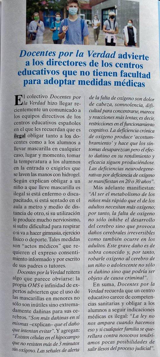 Replying to @DocentesPVerdad: ¡Vamos, docentes! Cada vez somos más.  #LosNiñosNoSeTocan #NiñosSinMascarilla