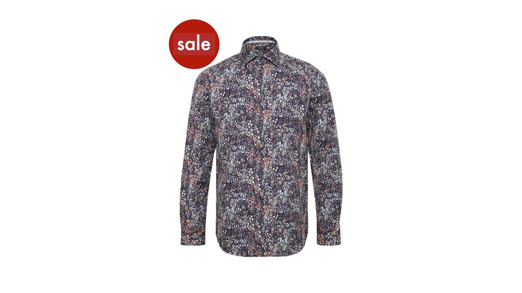 Even MORE lines added in our SALE!  Slim fit Matinique shirt, was £89.95, SALE £62  Medium and XL available at time of writing, with FREE delivery.  Click here to go straight to it:   #Dorking #premium #menswear #Gant #Hackett #Barbour #coat #shirt #jumper