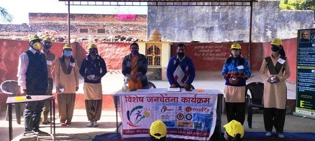 उदयपुर-  सूचना एवं प्रसारण मंत्रालय , भारत सरकार के क्षेत्रीय लोकसम्पर्क ब्यूरों उदयपुर द्वारा स्वच्छता पखवाड़ा़ के अर्तगत राजकीय उच्च माध्यमिक विधालय एकलिंगपुरा में आज  स्वच्छ भारत अभियान पर संगोष्ठी एवं भाषण प्रतियोगिता का आयोजन किया गया। #SwachhataPakhwada