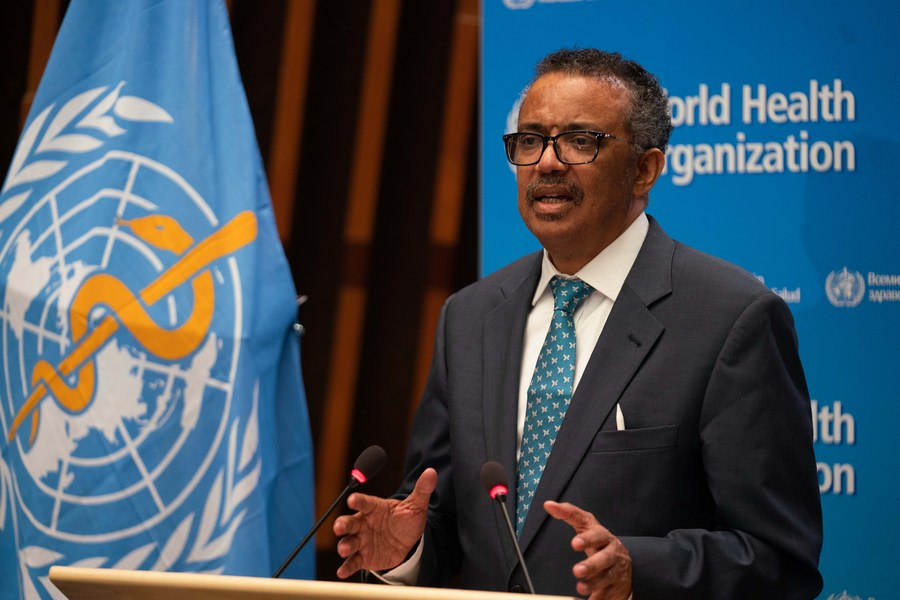 #BREAKING: Tedros welcomes U.S. announcement to maintain membership in WHO