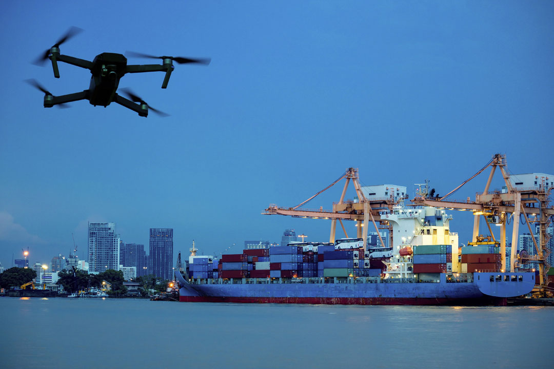 Our drones collect visual data on the condition of a ship, dock, vessel, and containers coupled with our smart AI solutions.  -- Would you be interested in scheduling a demo or call to learn more? Call +1 470-316-7508   or   Visit  >>  #thursdaymorning