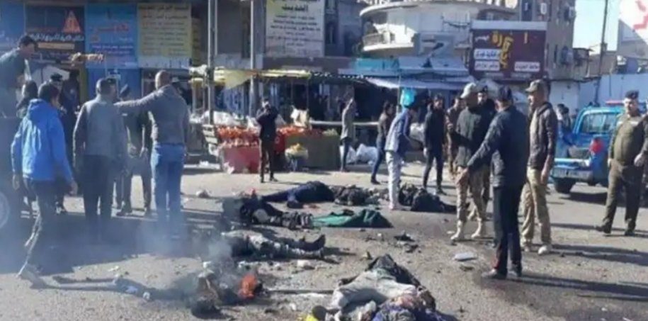 Today's terrorist attack in Baghdad has caused grief and sorrow in the hearts of the free people of the world. #من_قلبی_سلام_لبغداد #ThursdayThoughts