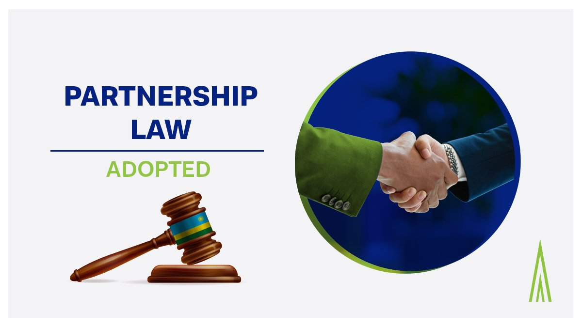 #KIFCNEWS: The law governing partnerships has been adopted by parliament.   Once gazetted the partnership law will provide for structuring options that are familiar and friendly to international investors, private equity funds, fund managers and businesses like law & audit firms.