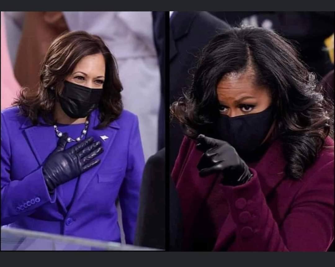 The look that needs no words!!! #thursdaymorning #BlackGirlMagic #BlackTwitter #MadamVicePresident #MadamVicePresidentKamalaHarris #VicePresidentKamalaHarris #VicePresidentHarris #JoeBiden #46thPresident