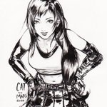 Image for the Tweet beginning: #Tifa for this #ThrowbackThursday!