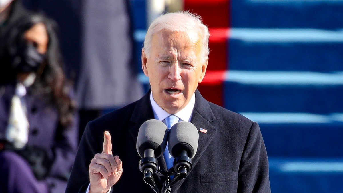 Inaugural Address Spills Over Into Second Day As Biden Continues To List Greatest Issues Facing Nation