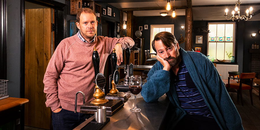 After a 4 year wait, Series 2 of Back - the sitcom starring @realDMitchell & @aRobertWebb - is here. Channel 4, 10pm. Series 1 recap and spoiler-free Series 2 preview: