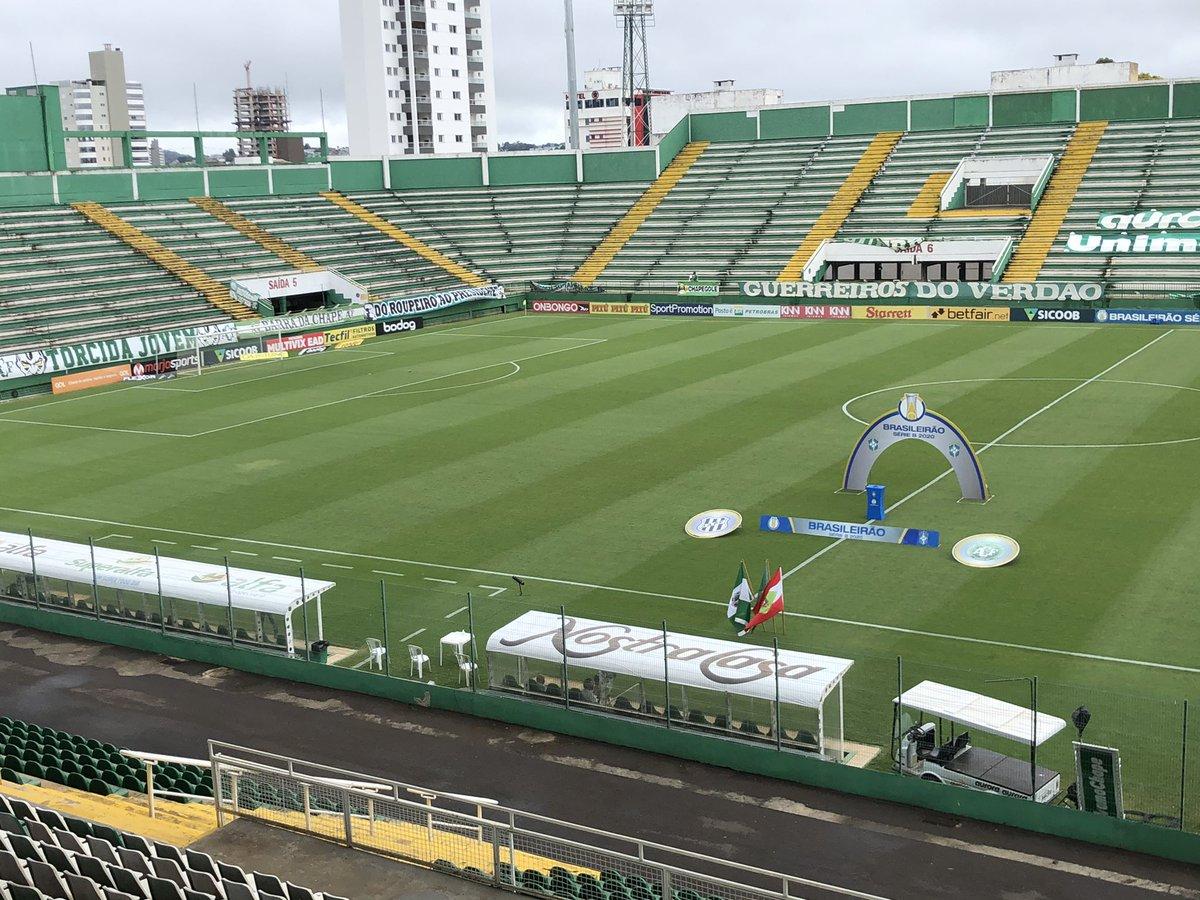 Arena Condá pra Chapecoense x Ponte Preta #SerieB https://t.co/PLpXGujS8l