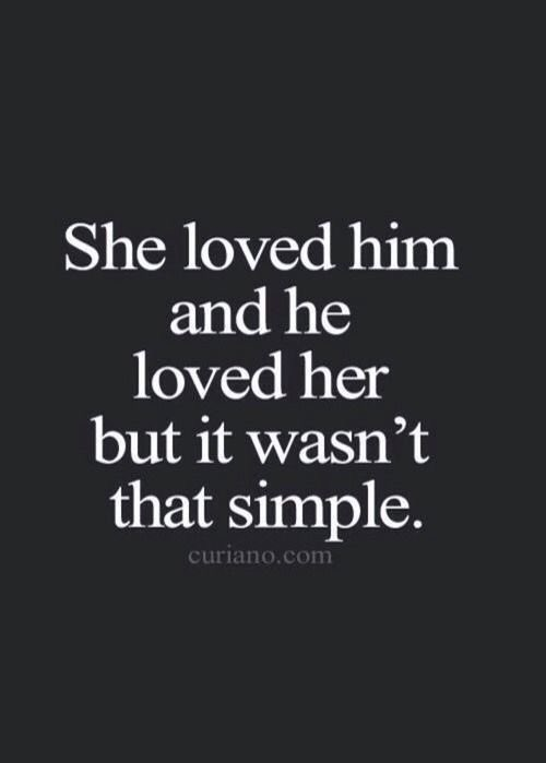 Love isnt always that simple..   #writers #poems #quotes #memes #songs #lyrics #love #dating #relationships #cheating #breakups #firstlove #bloggers #blogspot #FolkloreThursday #followforfollow #halsey #storytime #shareyourwork #collab