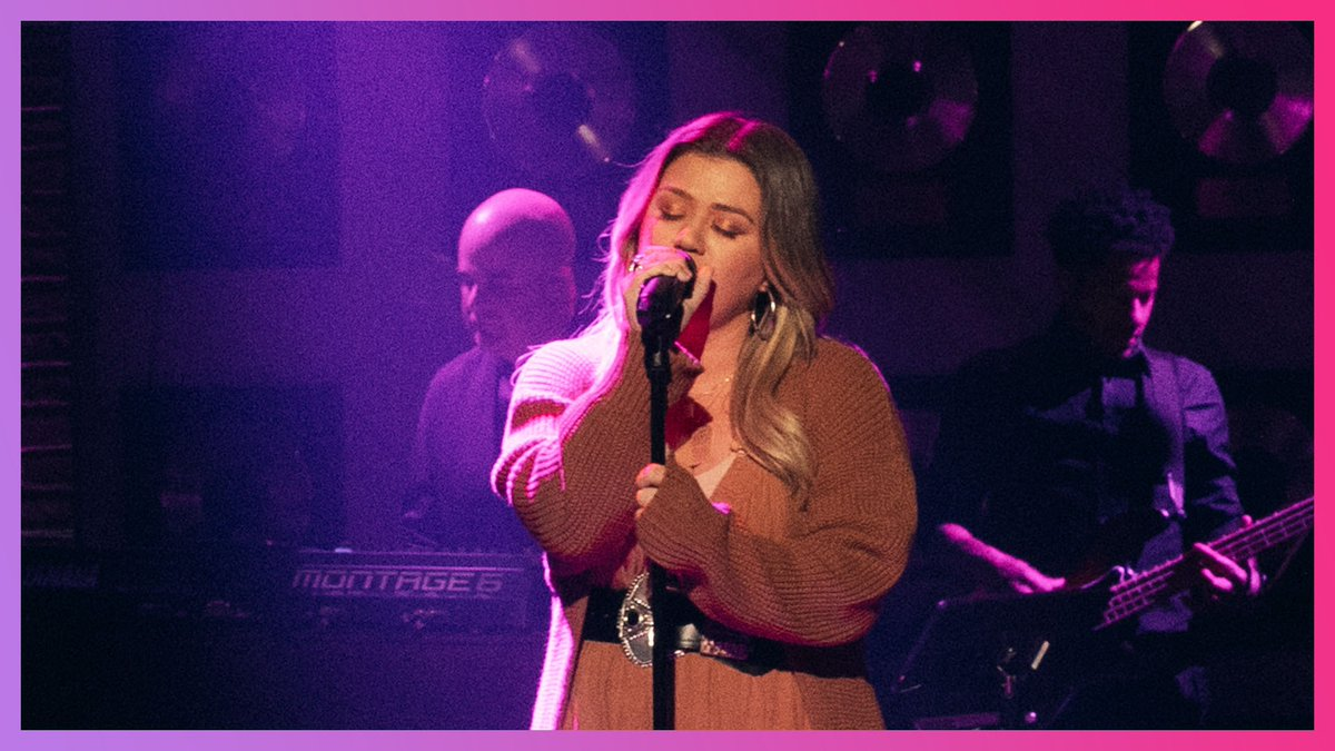 "Kelly Clarkson Covers @kylieminogue ""Can't Get You Out Of My Head"" #Kellyoke   WATCH:"