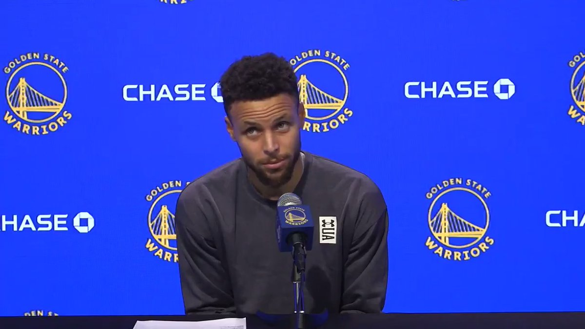 .@StephenCurry30's reaction to being called Wardell 🤣  (via @ThompsonScribe) https://t.co/m1wVB8hJQX