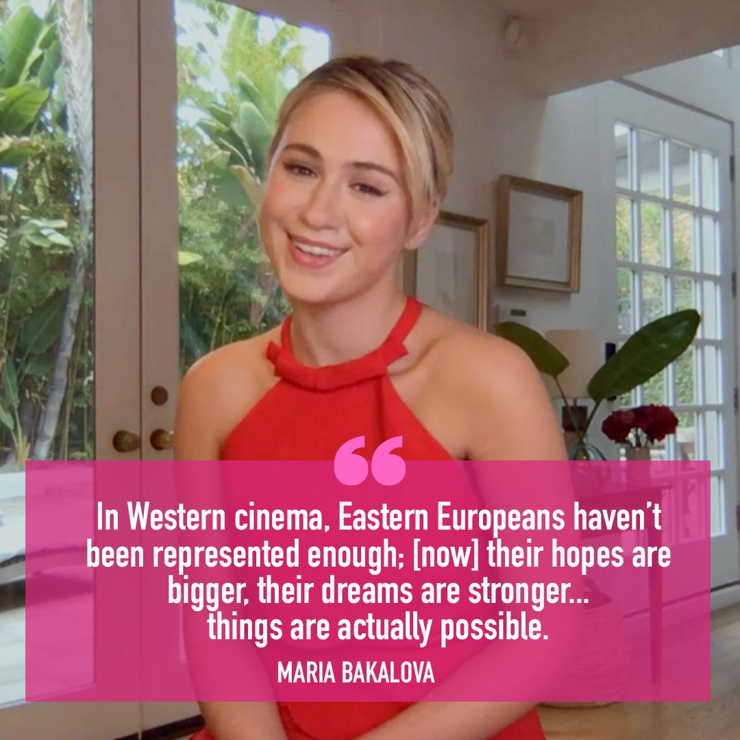 #Borat2 Star @MariaBakalova96 Talks Eastern European Representation In Film  WATCH:   #KellyClarksonShow
