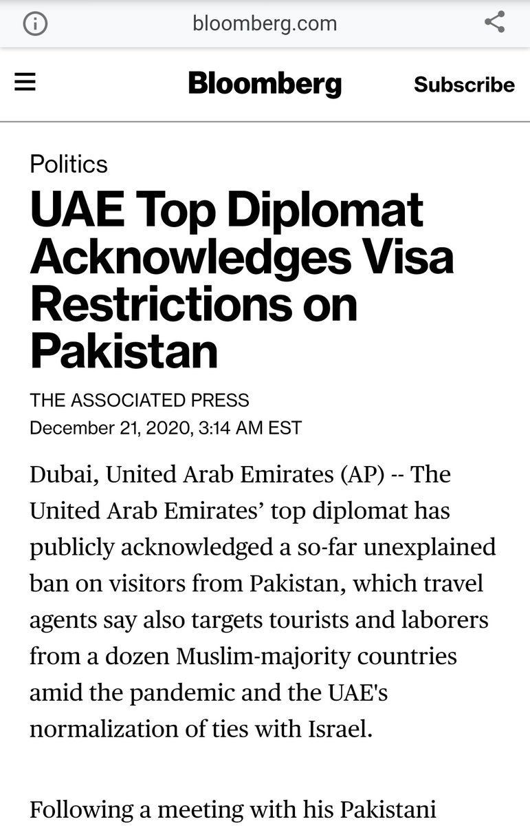Its now about 2-months since UAE suspended visas for Pakistanis. @ImranKhanPTI @SMQureshiPTI @sayedzbukhari @OfficialDGISPR shame.,.....  #PTIGovernment #Bycottcannoli  #باواجی_وزیراعظم_عمران_خان