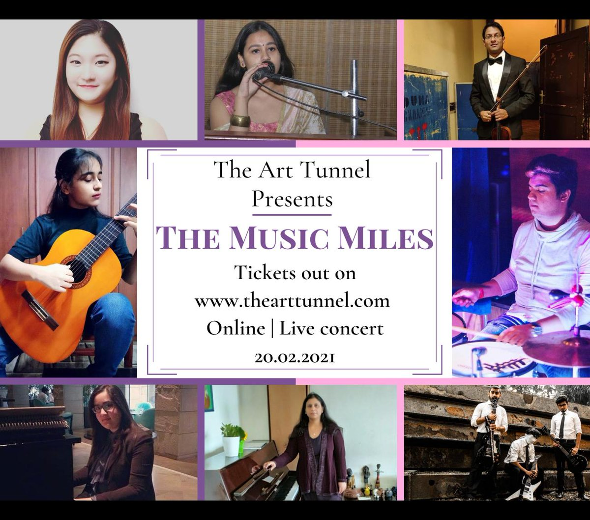 Best of performers going to perform for THE MUSIC MILES.  Book your tickets now    #artistsontwitter #WishMusicAwards #concert #GRAMMYs #musician #musicconcert #Jazz #contemporary #Broadway #ClassicalMusic #paytminsider #Paytm