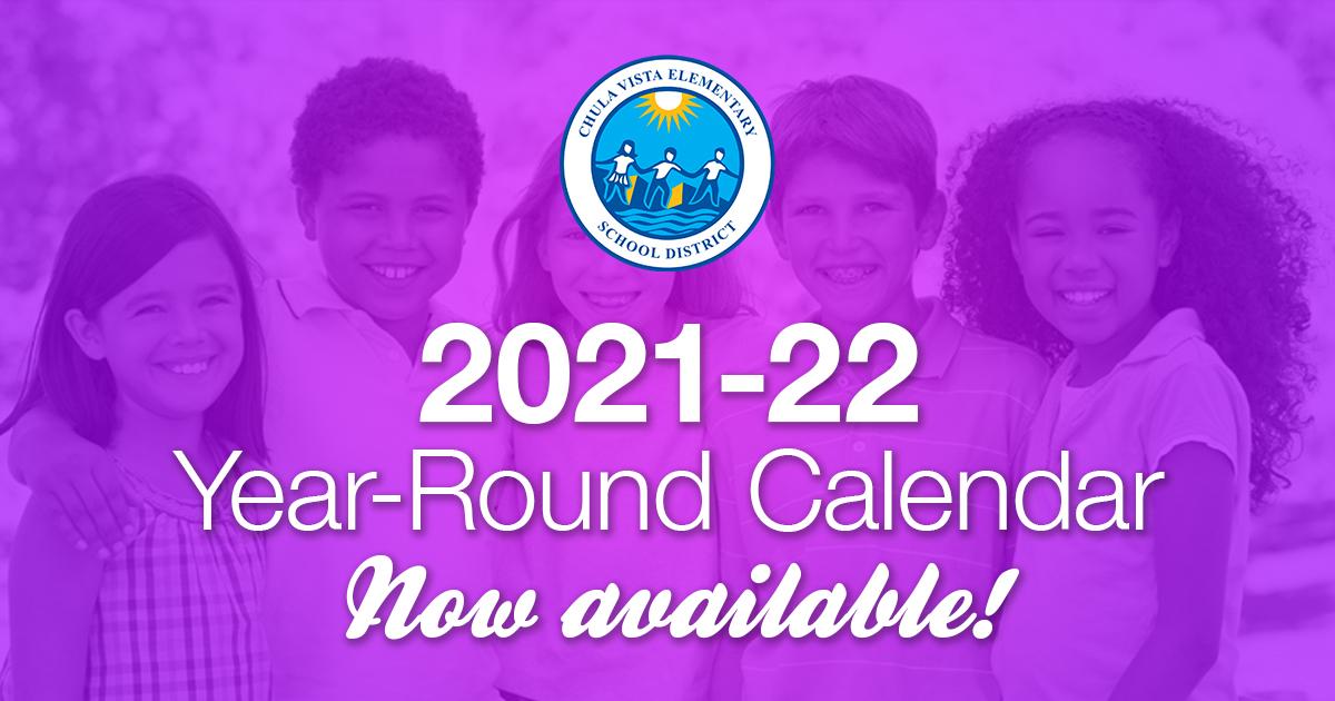 Cvesd Calendar 2021-22