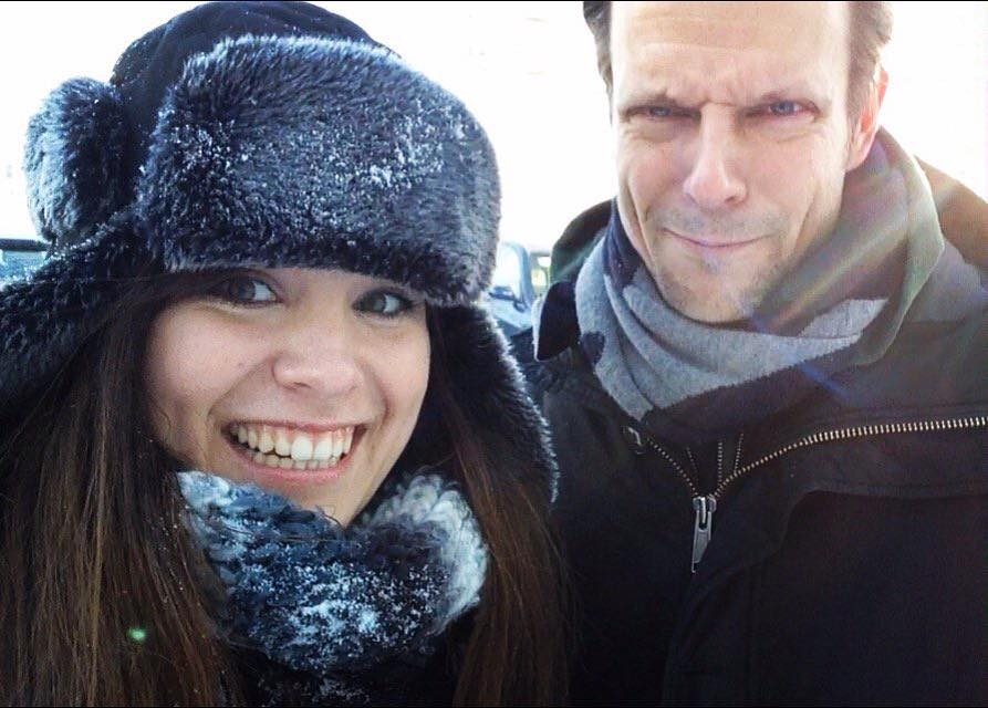 Five years ago, @SamLakeRMD hit me in the face with a snowball in Finland and it was the best day. I miss going to cool places and meeting cool people. Often literally. It got to -25°C on this trip! 🥶