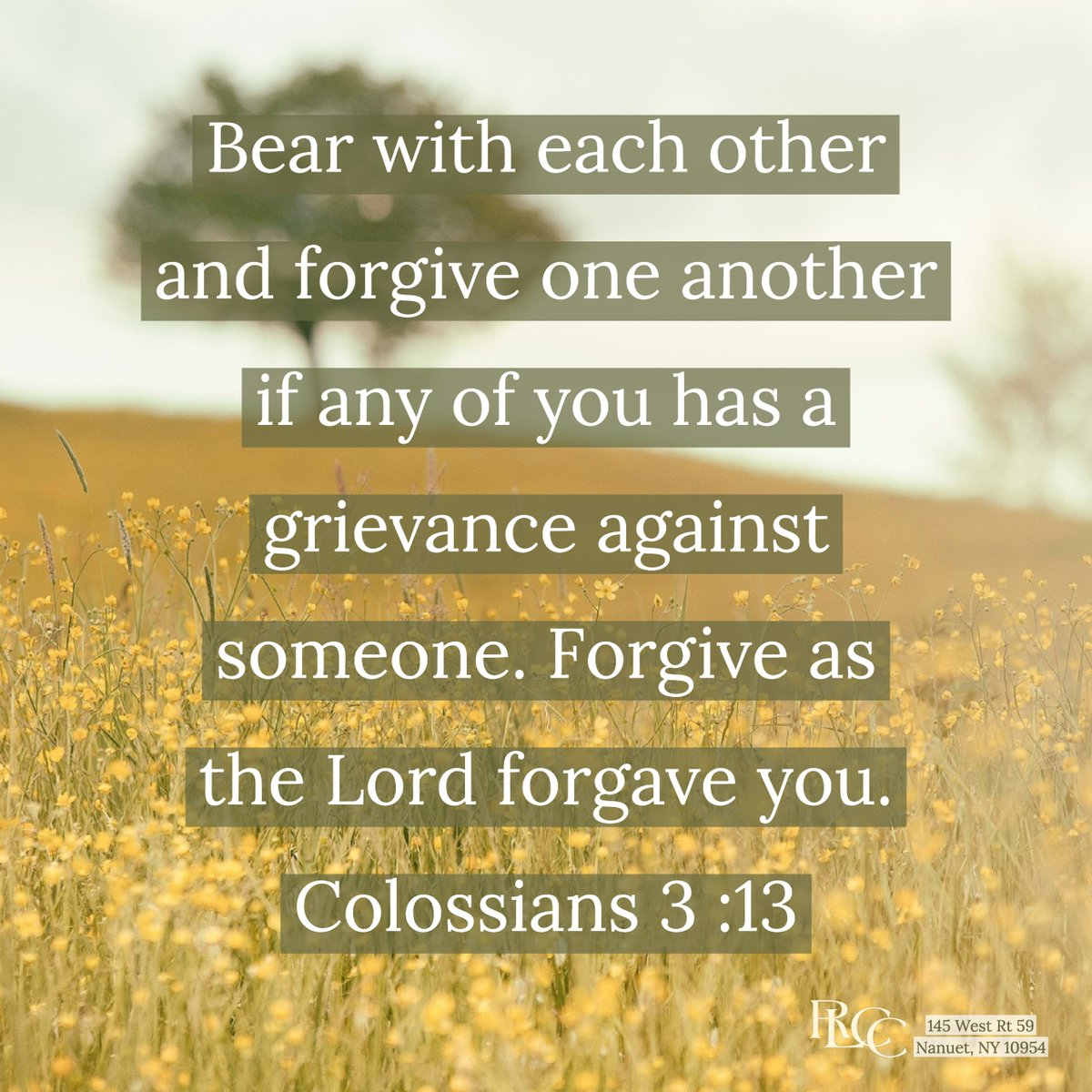 #VOTD --Bear with each other and forgive one another if any of you has a grievance against someone. Forgive as the Lord forgave you.  ~Colossians 3:13 . . . #forgiveness #forgive #Christ #ThursdayThoughts  #blessings #verseoftheday #bibleverse #Bible #Jesus #WWJD