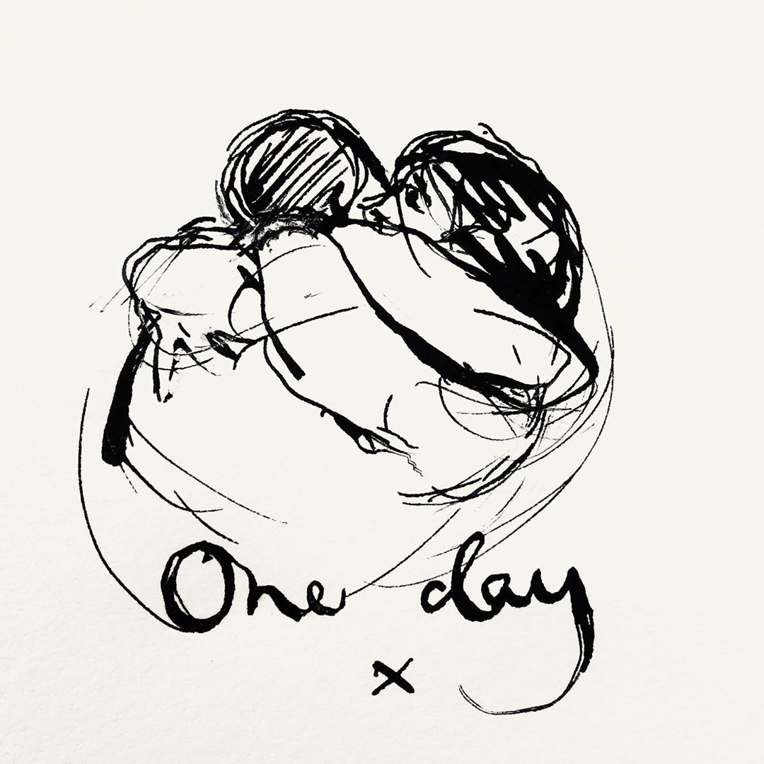 Today is #NationalHuggingDay & although we aren't able to hug our loved ones like we wish we could, we wanted to send you a massive virtual hug! 💌 Remember, we're here for you if you need us . Thanks to @charliemackesy for another beautiful illustration