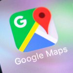 Image for the Tweet beginning: Google Maps just got a