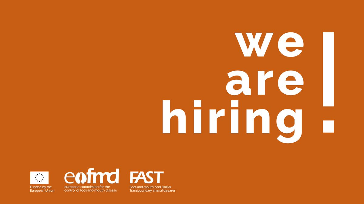 📢New #Vacancy! The #EuFMD is looking for: #Veterinary para-professional capacity skills training programme Coordinator  Deadline: 07 February 2021 Location: Various Locations Apply now➡️   #Vet #AnimalHealth #Job #Jobs #Vacancies #UNJobs