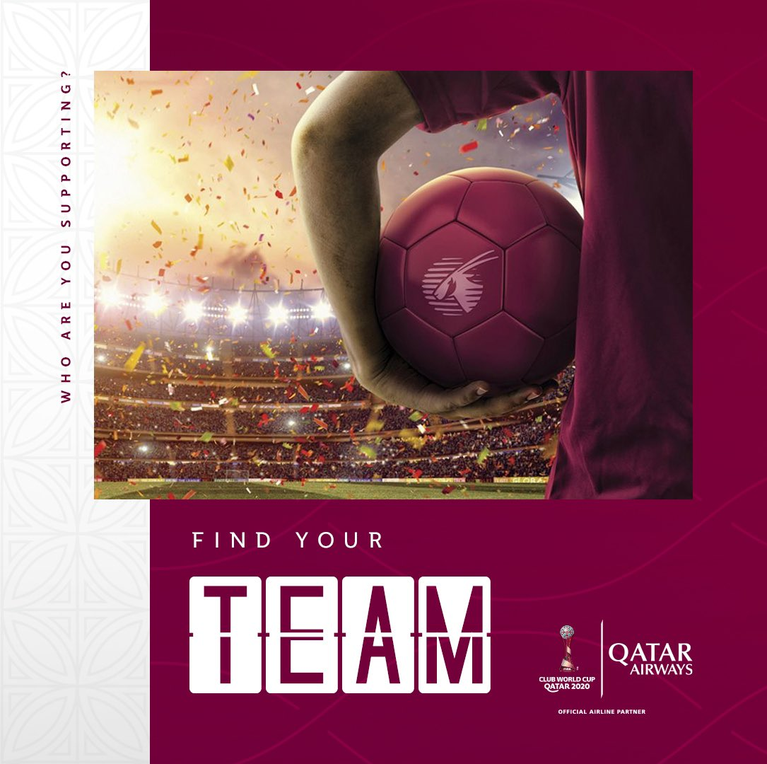 Unsure which team to support for the @FIFAcom Club World Cup?  Our handy team selector tool has got you covered👇   #QatarAirways #ClubWC 🇶🇦 ⚽️ 🏆