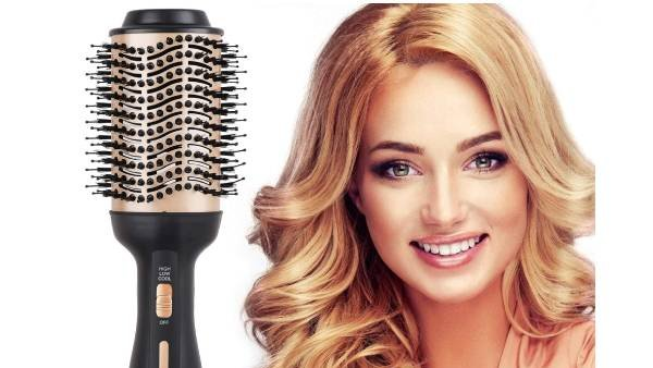 Multifunctional Air Hair Brush for Straightening    #Gift #GiftIdea #thursdaymorning #ThursdayThoughts #BNHA298 #SunriseCelebration